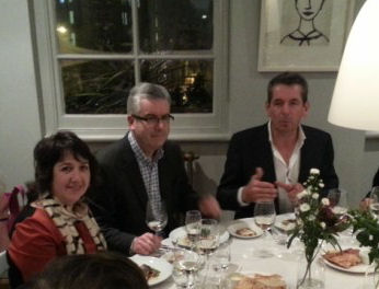 Dinner withn Brancott Estates Patrick Materman